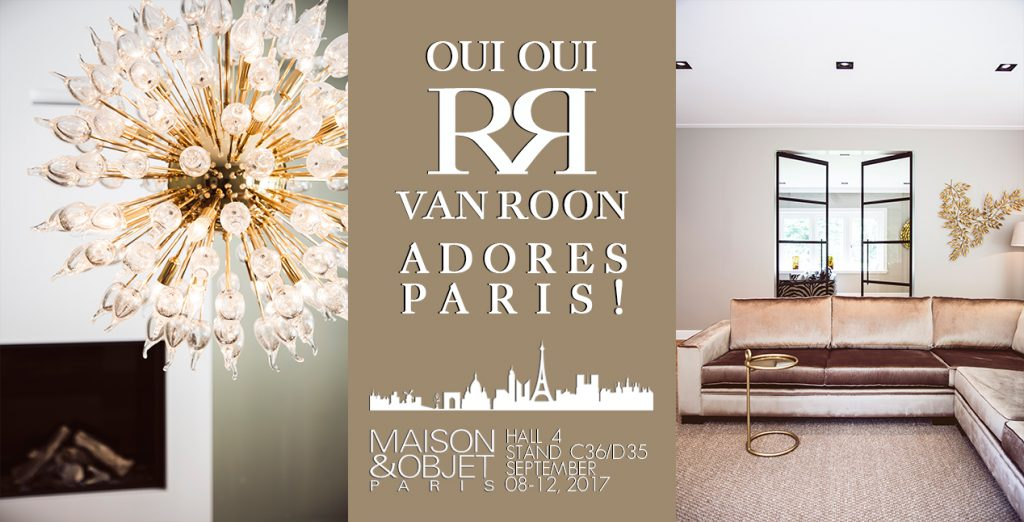 invitation van roon living at maison objet paris 2017 van roon living. Black Bedroom Furniture Sets. Home Design Ideas