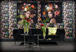 Van Roon Living interieur winkel interior sofa bank wall art accessoires meubels woonkamer huiskamer decoratie